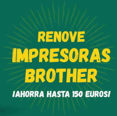 Renove Impresoras Brother